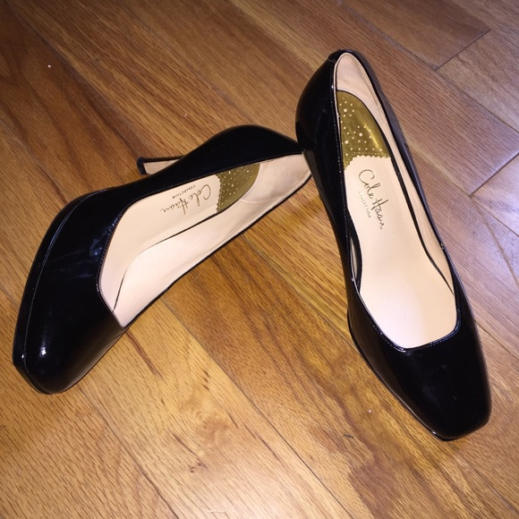 debacef3b5e Cole Haan | Black Patent Leather Pumps Size 6